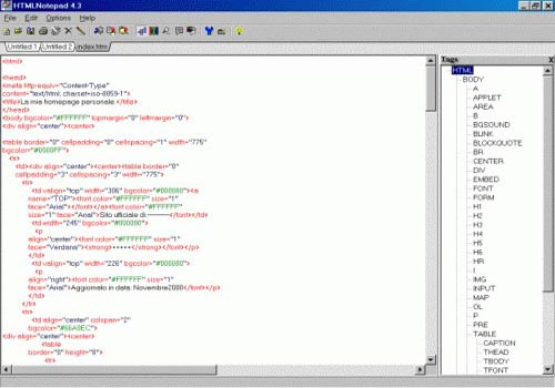 HTMLNotepad