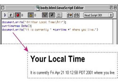 Document Write Viewer