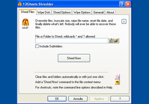 12Ghosts Shredder