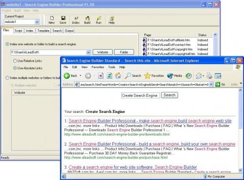 Search Engine Builder Standard