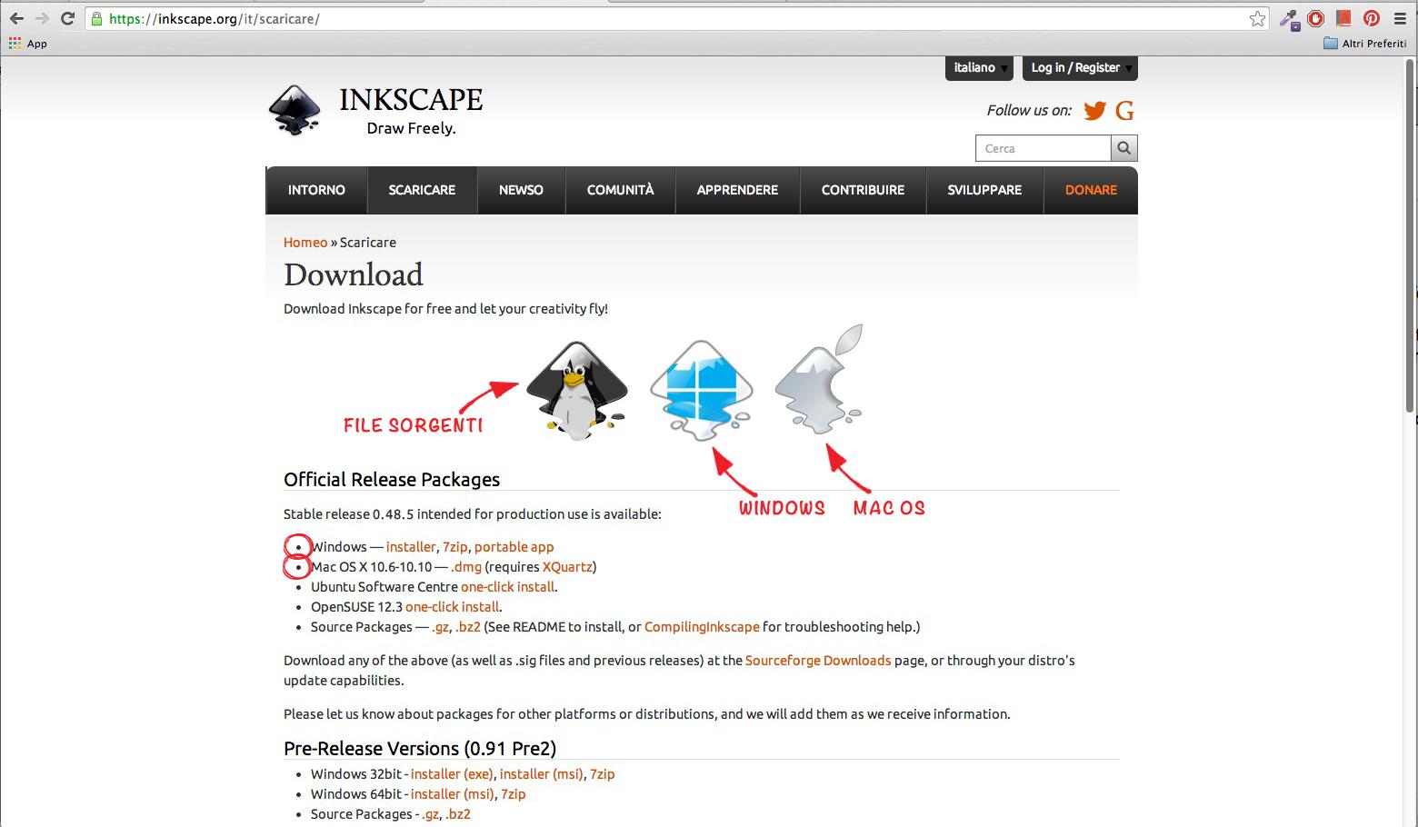 inkscape sourceforge