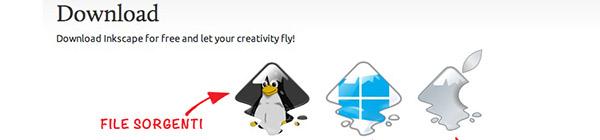 Download di Inkscape