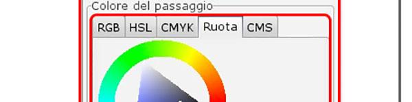 Modifica colore di uno Stop