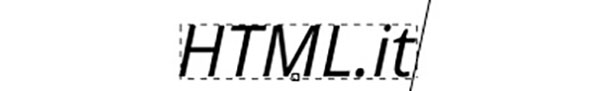 Funzione di inserimento testo semplice