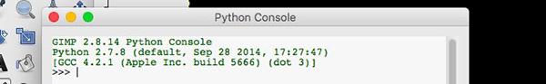 Console Python-Fu