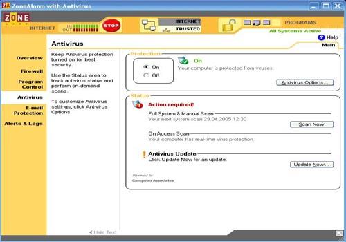 ZoneAlarm Antivirus