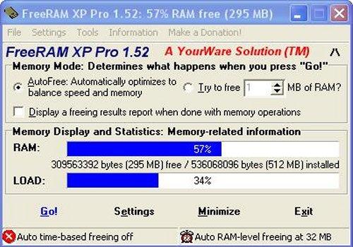 FreeRAM XP Pro