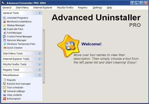 Advanced Uninstaller Pro 2006