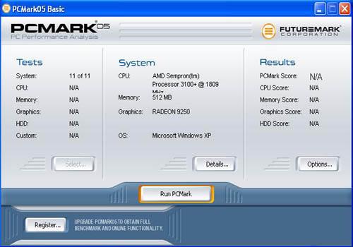 PCMark05 Basic Edition