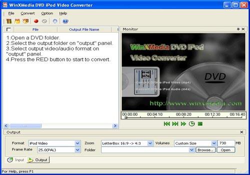 Winxmedia DVD MP4 Video Converter