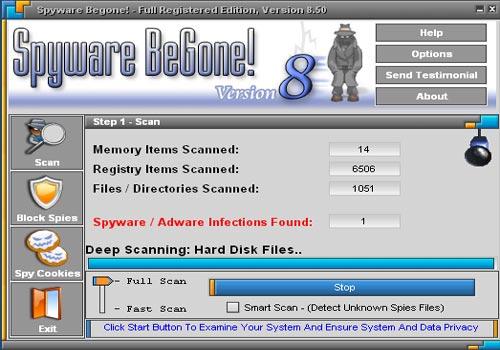 Spyware Begone