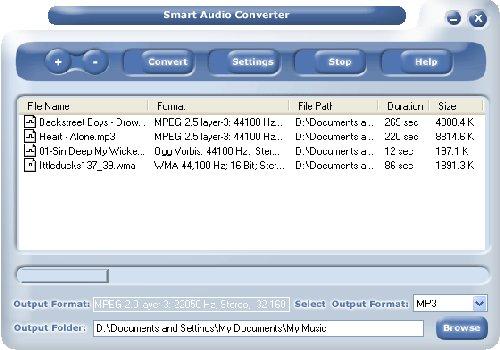 Smart Audio Converter