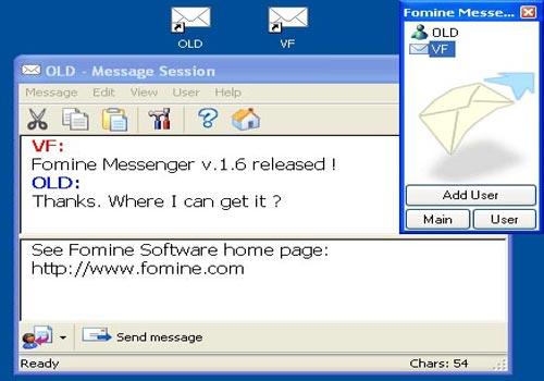 Fomine LAN Chat