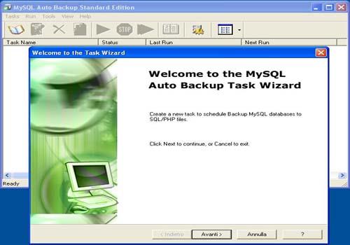 MySQL Auto Backup Standard Edition