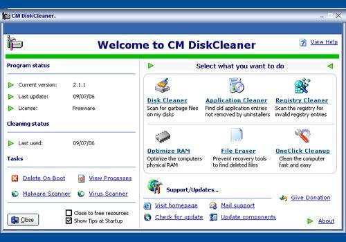 CM DiskCleaner