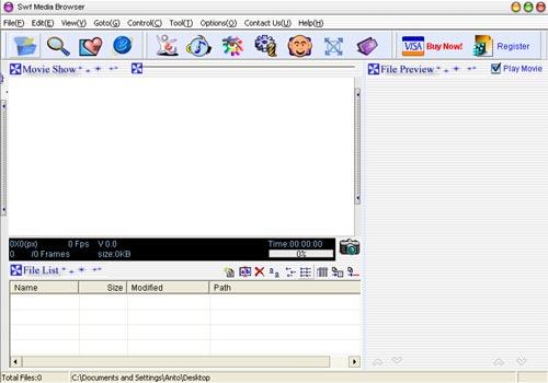 SWF Media Browser