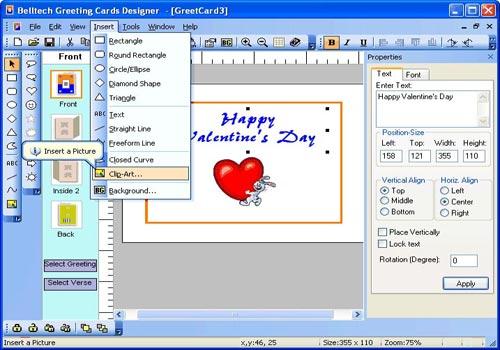 Greeting Card Designer