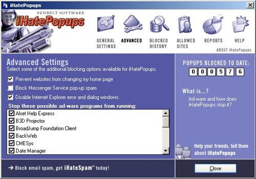 Ihatepopups download - Bloccare finestre pop up ...