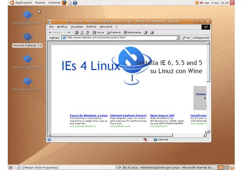 IEs4Linux