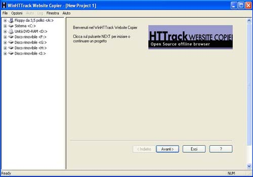 HTTrack Website