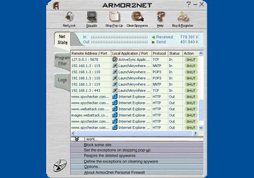 Armor2net Personal Firewall
