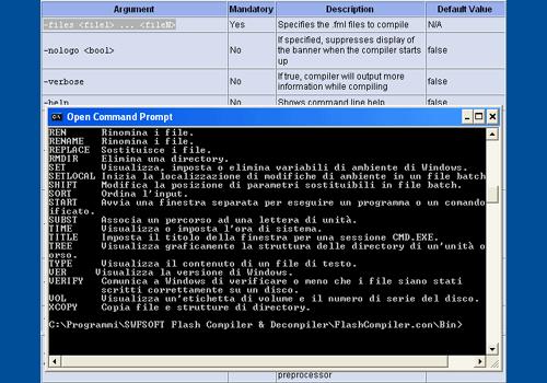 Flash Compiler/Decompiler