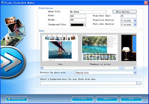 Flash Slide Show Maker