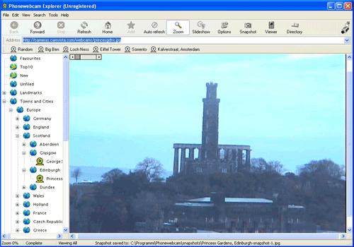Phonewebcam Explorer