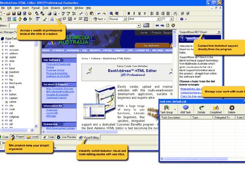 BestAddress HTML Editor 2007 Professional