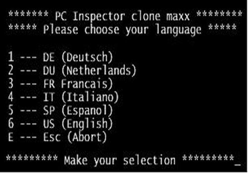 PC Inspector Clone Maxx