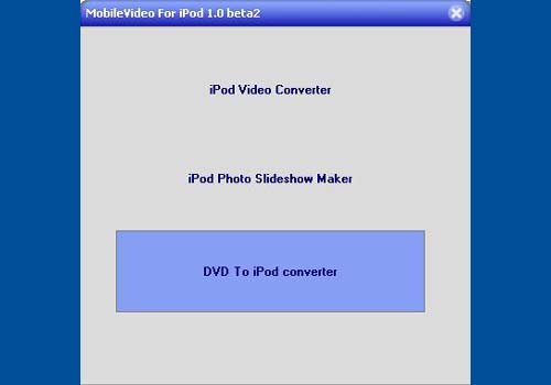 MobileVideo For iPod