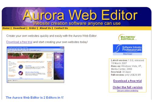 Aurora Web Editor