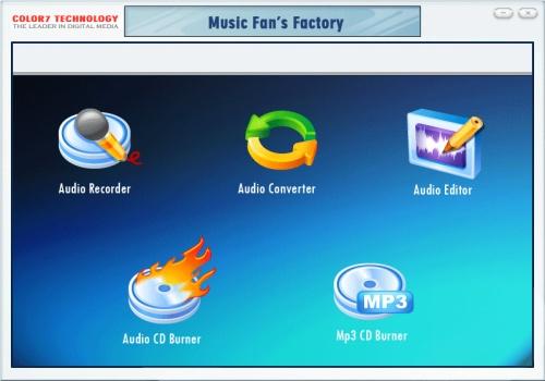 Music Fan's Factory