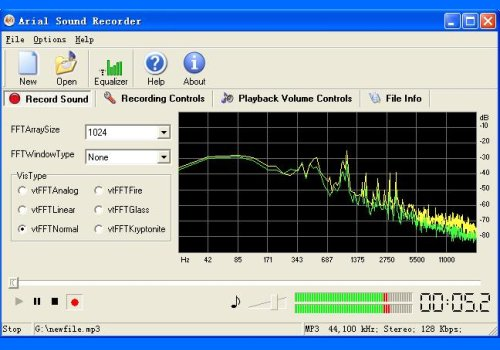 Arial Sound Recorder
