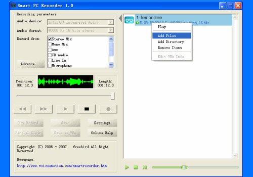 Smart PC Recorder