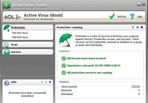 Active Virus Shield