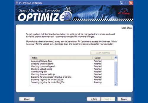 PC Pitstop Optimize