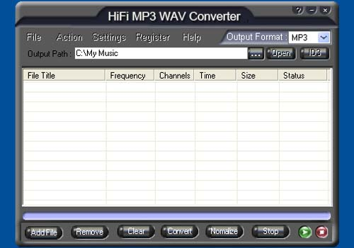HiFi MP3 WAV Converter