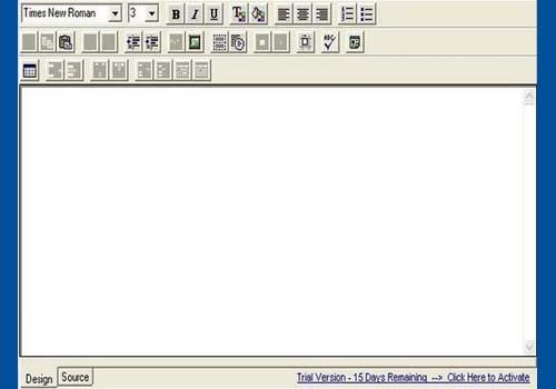 Think HTML Editor Control