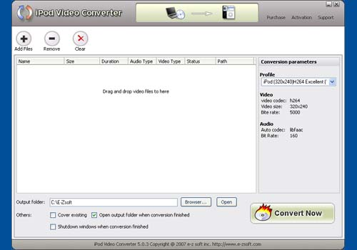E-Zsoft iPod Video Converter