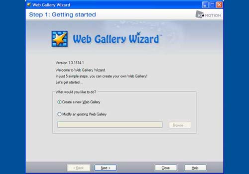 Web Gallery Wizard PRO