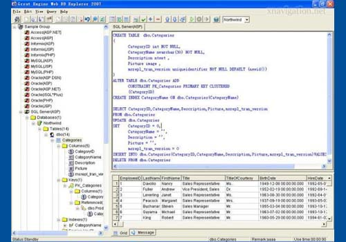 Web DB Explorer 2007