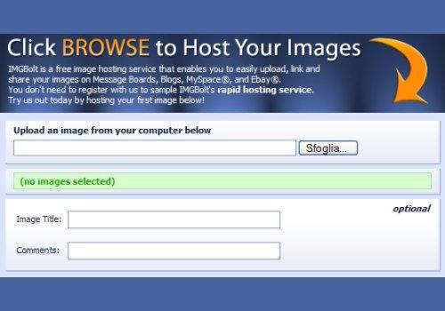 Image Host Toolbar