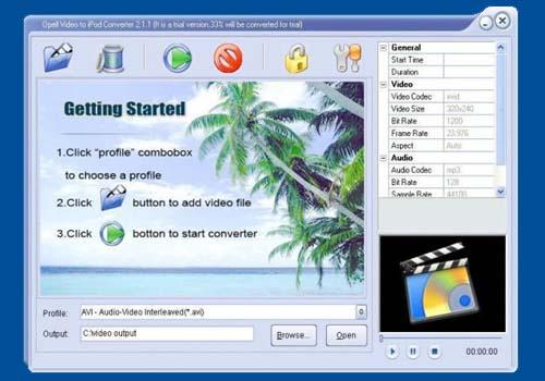 Opell Video Converter