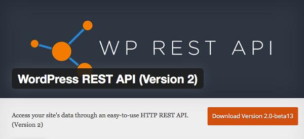 REST API plugin