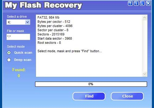My Flash Recovery