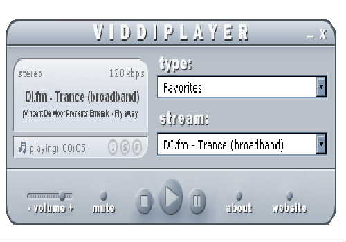Viddi Radio Player