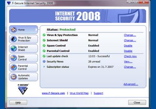 F-Secure Internet Security 2008