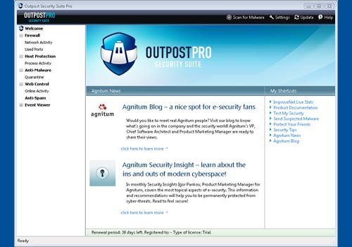 Outpost Security Suite Pro 2008