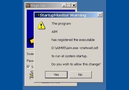Startup Monitor
